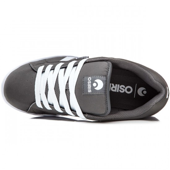 Osiris Loot Shoes - Charcoal/White - 8.0