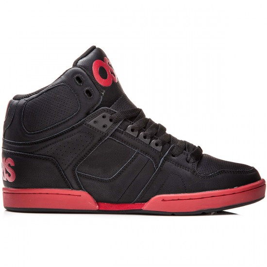 Osiris NYC 83 Vulc Shoes - Black/Red - 8.0