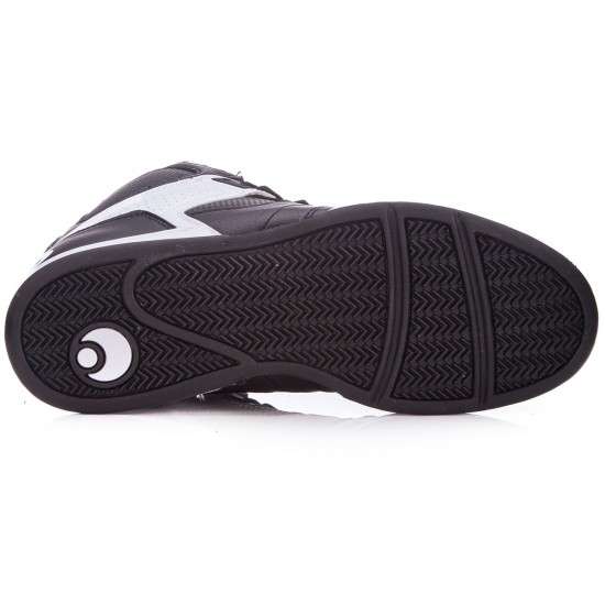 Osiris NYC 83 Shoes - Black/White/White - 5.0