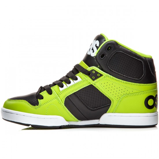 Osiris NYC 83 Vulc Shoes - Lime/White - 8.0