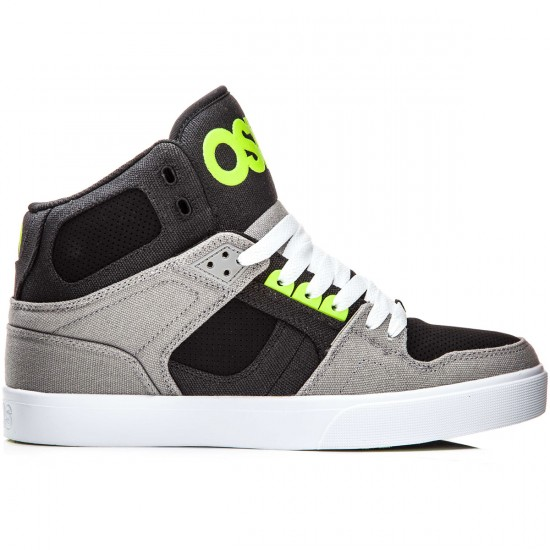 Osiris NYC 83 VLC Shoes - Grey/Lime - 8.0