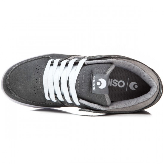Osiris Protocol SLK Shoes - Grey/White - 8.0