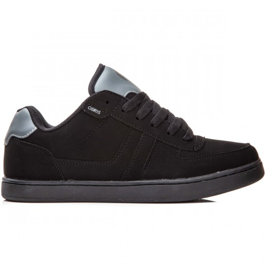 Osiris Relic Shoes - Black/Charcoal/Charcoal - 8.0