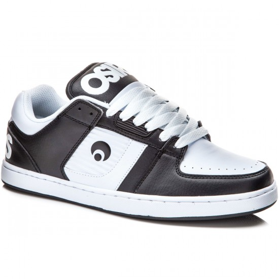 Osiris Script Shoes - Black/White - 8.0