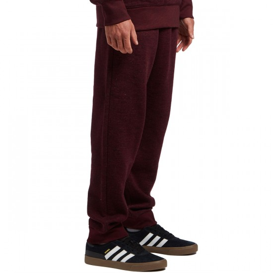 Primitive A-Frame Fleece Pants - Burgundy/Cross-Dye - XL