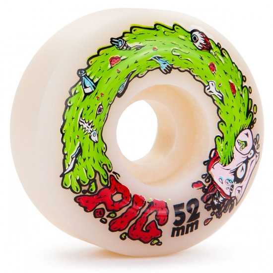 Pig Swine Flu Skateboard Wheels -  52mm - 101a