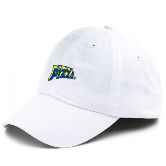 Pizza Swerve Delivery Boy Hat - White