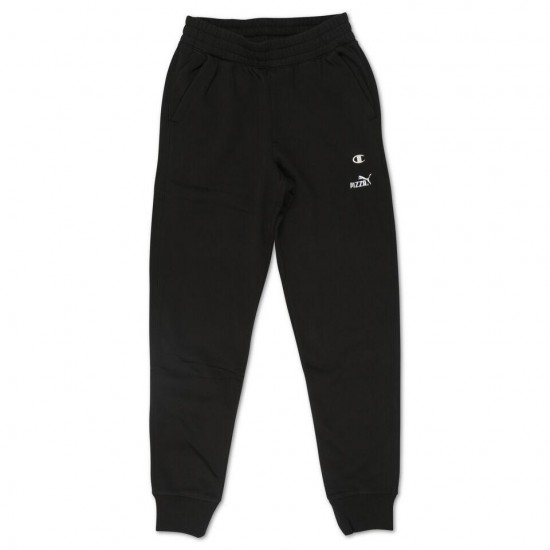 Pizza Cat Joggers Sweatpant - Black