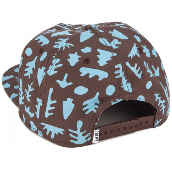 Poler Mushy Trees Floppy Hat - Brownstone/Frost