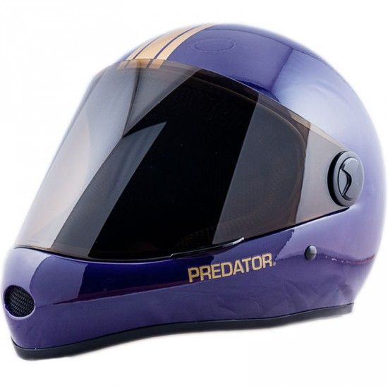 Predator DH6 Full Face Race Helmet - Purple