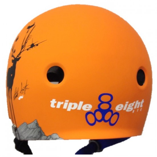 Triple Eight Brainsaver Dual Certified Skateboard Helmet - Patrick Switzer Pro Model