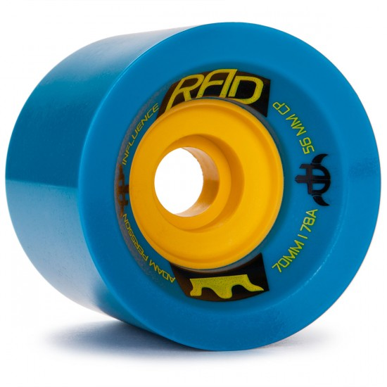 RAD Influence Adam Persson Pro Longboard Wheels - 70mm - 78a