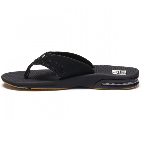 Reef Fanning Sandals - Black/Silver - 10.0
