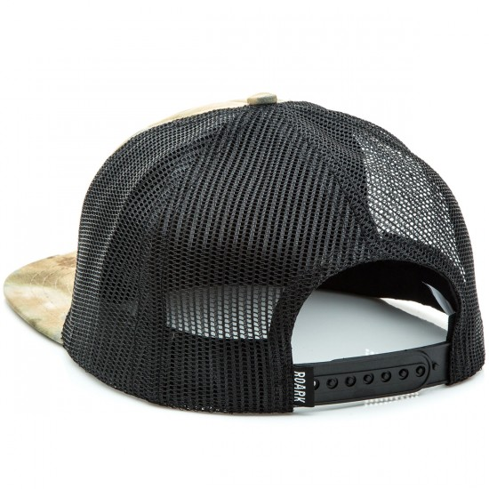 Roark Fear The Sea Mesh Snapback Hat - Camo