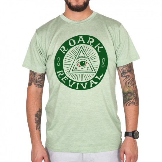 Roark Illuminati T-Shirt - Heather Green