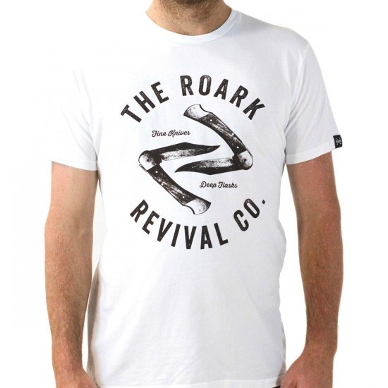 Roark Revival Company T-Shirt - White