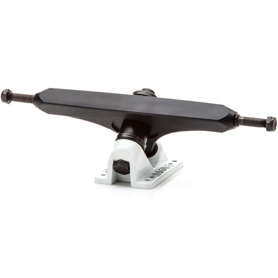 Rogue Cast Longboard Trucks - Black/White