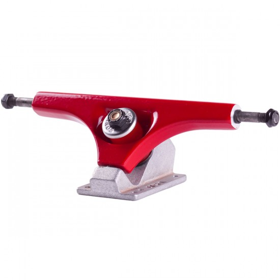 Ronin Cast Longboard Trucks - Red / Raw 180mm