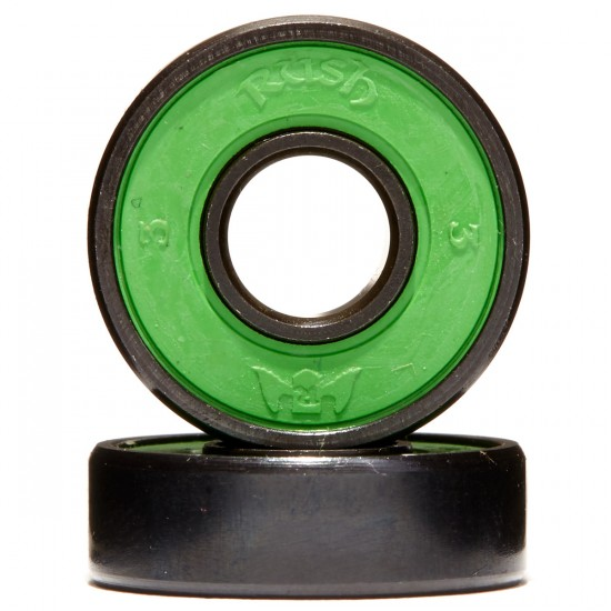 Rush Abec 3 Skateboard Bearings With Spacers
