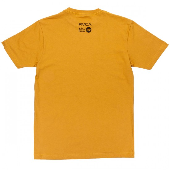 RVCA Chief Block T-Shirt - Straw