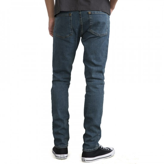 RVCA Daggers Denim Pants - Vintage Blue - 29 - 32