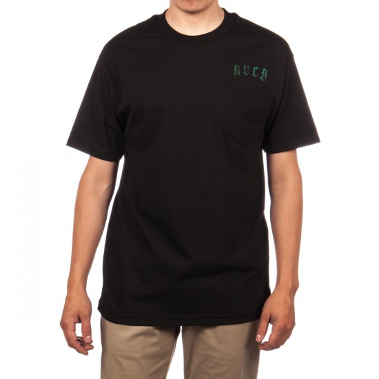 RVCA In Us We Trust T-Shirt - Black