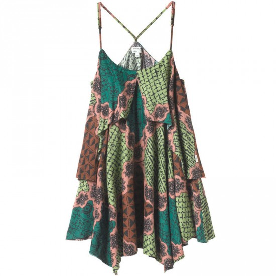 RVCA Racket Dress - Green Haze