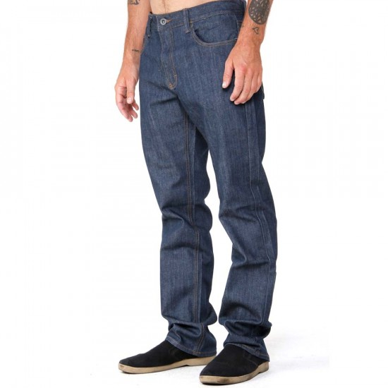 RVCA Regulars Extra Stretch Jeans - Classic Blue