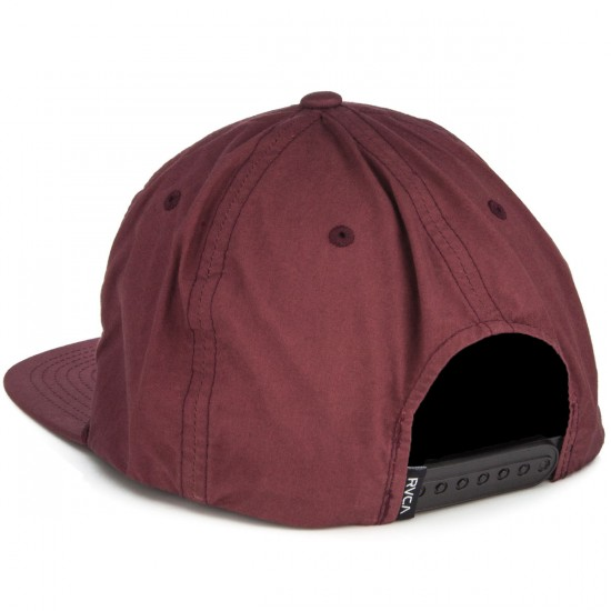 RVCA RVCA Islands Six Panel Hat - Burgundy