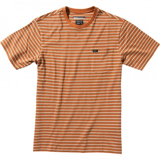 RVCA Sanity Youth Crew Shirt - Adobe