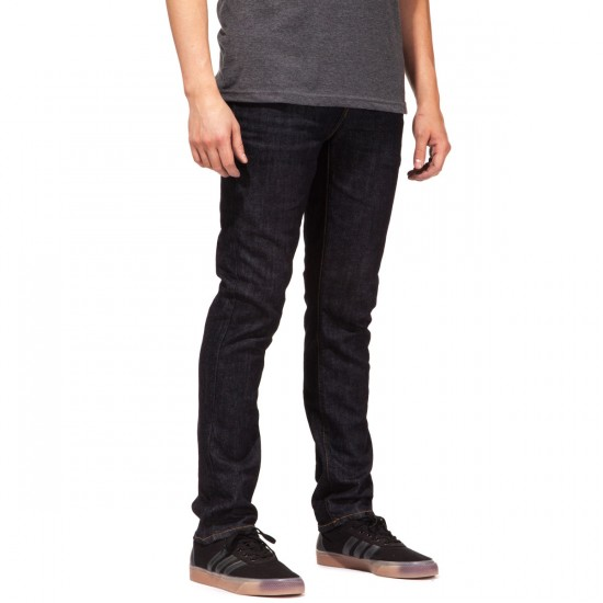 RVCA Spanky Denim Pants - Deep Indigo - 30 - 32