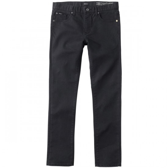RVCA Spanky PVSH Fresh Denim Pants - Black - 29 - 32