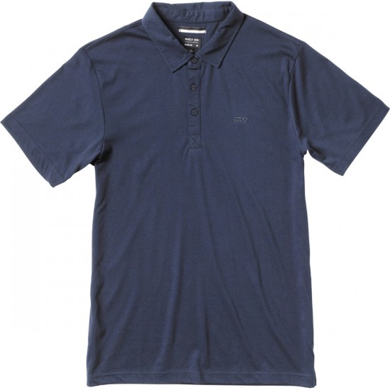 RVCA Sure Thing Polo Shirt - Night Shadow