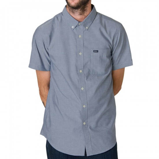 RVCA That'll Do Oxford Short Sleeve Shirt - Pavement