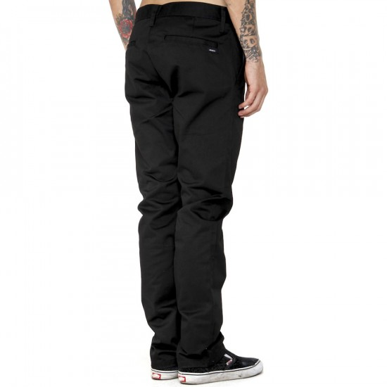 RVCA The Week-End Pants - Black - 28 - 32