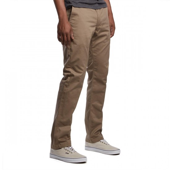 RVCA The Week-End Pants - Dark Khaki