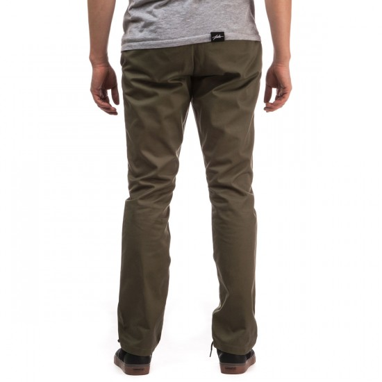 RVCA The Week-End Pants - Fatigue - 28 - 32