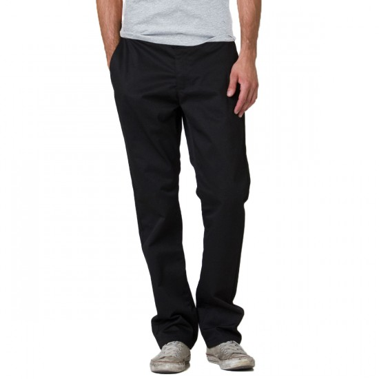 RVCA The Week-End Stretch Pants - Black