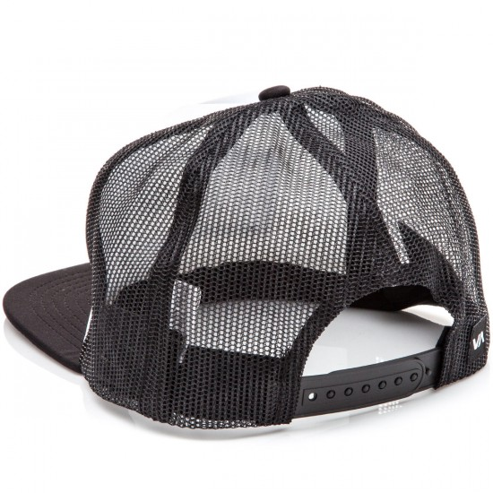 RVCA Tiki Trucker Hat - Black/Green