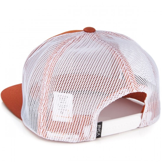 RVCA VA All The Way Truck Hat - Bombay Brown