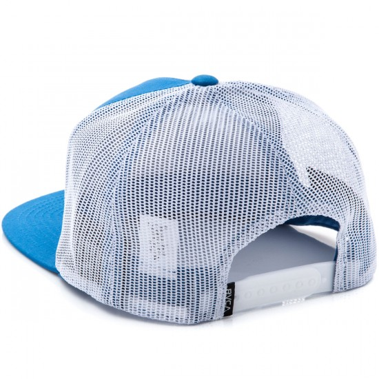 RVCA VA All The Way Truck Hat - Medium Blue