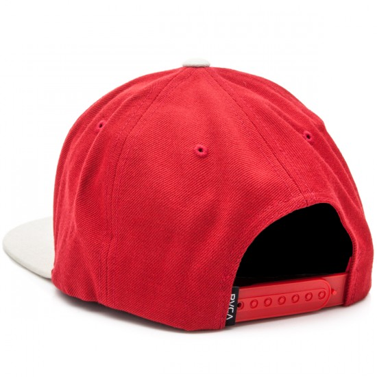 RVCA VA II Snapback Hat - Red