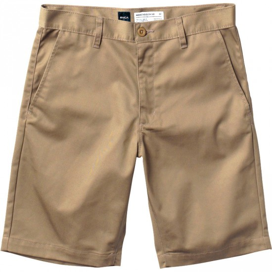 RVCA The Week-End Shorts - Dark Khaki