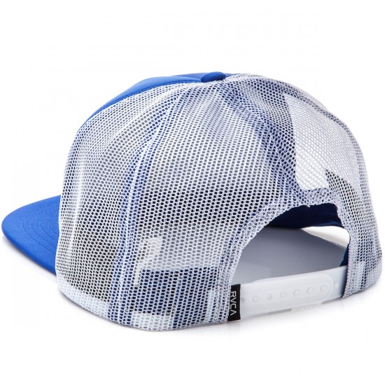 RVCA Well Done Trucker Hat - Blue