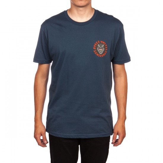 Santa Cruz Vintage Screaming Hand T-Shirt - Indigo