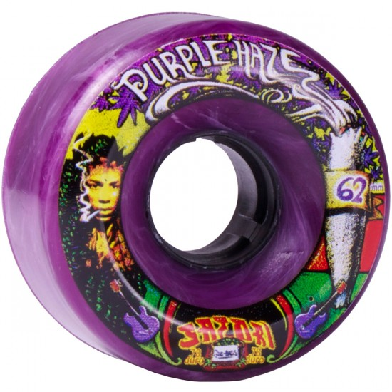 Satori Movement Goo Balls Skateboard Wheels - 62mm Purple Haze