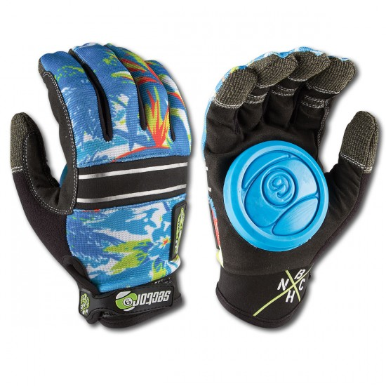 Sector 9 BHNC Slide Gloves - Hawaiian