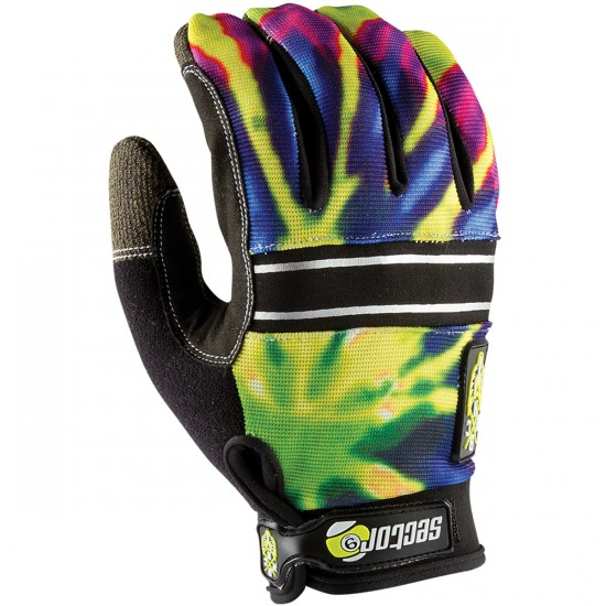 Sector 9 BHNC Slide Gloves - Lime Burst