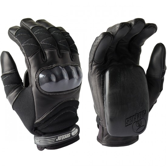 Sector 9 Boxer Slide Gloves - Black