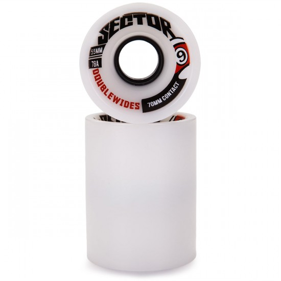 Sector 9 Nine Balls Double Wide Longboard Wheels - 55mm